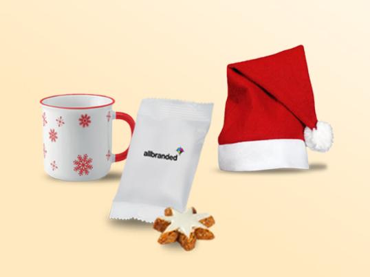 Cadeaux de Noël personnalisés avec votre logo