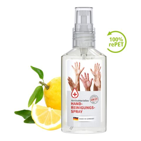 50 ml Spray (transp.) antibactérien de nettoyage des mains - Body Label