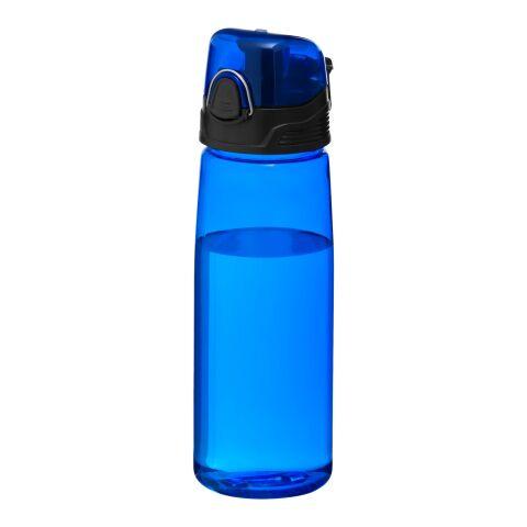 Bidon de sport Capri Standard | Bleu translucide | sans marquage | non disponible | non disponible