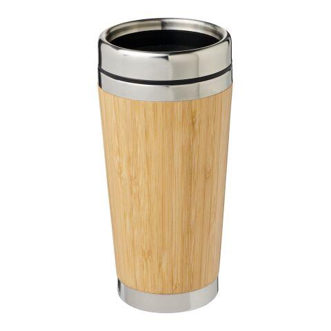 Gobelet 450 ml avec extérieur en bambou Bambus Standard   Marron   sans marquage   non disponible   non disponible