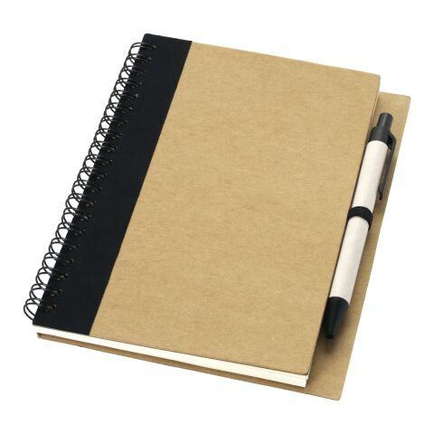 Carnet de notes avec un stylo Priestly Standard | Naturel-Noir | Sans marquage | non disponible | non disponible | non disponible