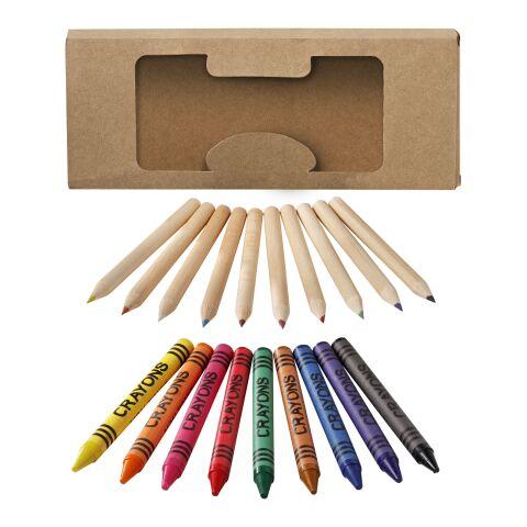 Set stylo et crayon 19 pièces