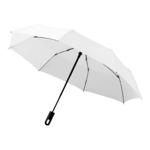 "Parapluie 3 sections 21.5"" Traveler Standard | Blanc | sans marquage | non disponible | non disponible | non disponible"