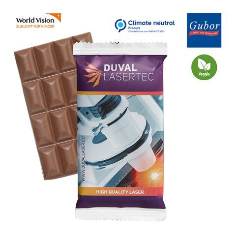 Barre de chocolat SUPER MAXI blanc   sans marquage