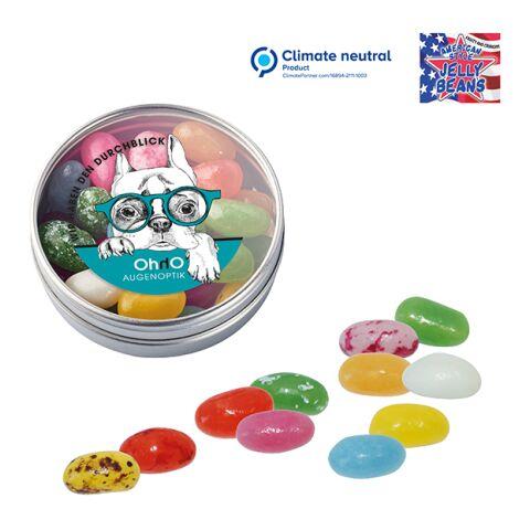 Boîte transparente avec American Jelly Beans