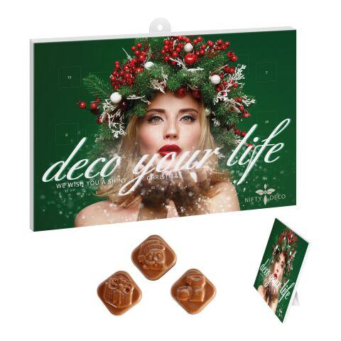 Calendrier classique au chocolat-mural de l'avent BUSINESS