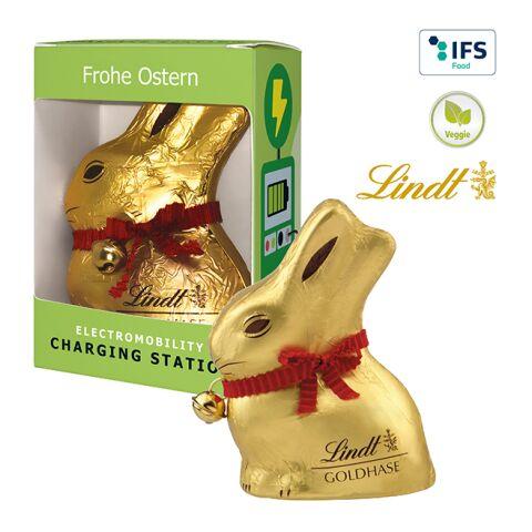 Lapin de Pâques «Lindt & Sprüngli» en boîte cadeau