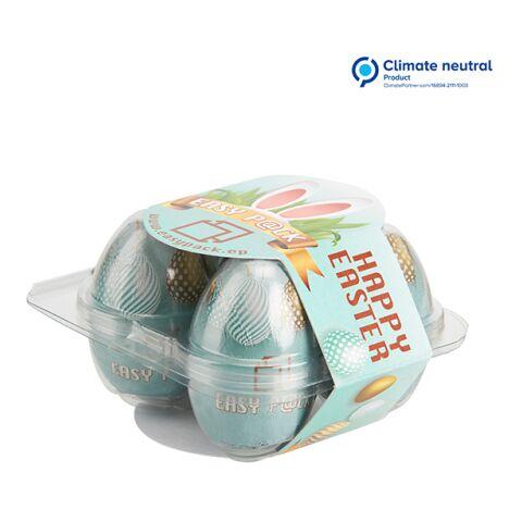Boîte au carré d'œufs avec banderole