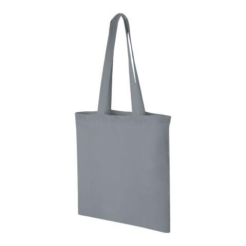 Sac shopping coton Carolina Gris acier   sans marquage   non disponible   non disponible