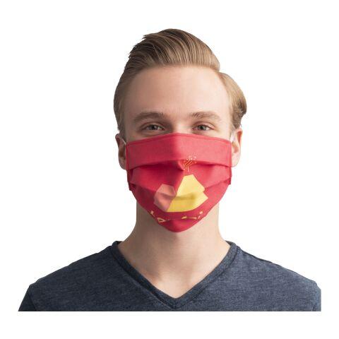 Masque réutilisable avec sublimation et bandes élastiques