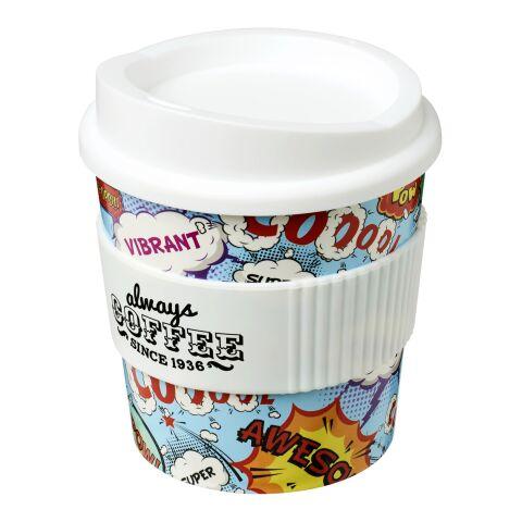 Gobelet Brite-Americano® primo 250 ml avec bandeau antidérapant Blanc   sans marquage   non disponible   non disponible