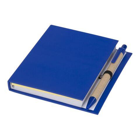 Petit carnet à notes autocollantes colorées avec stylo