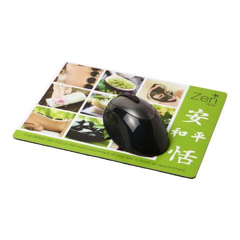 Tapis de souris Q-Mat® rectangulaire Noir bronze | sans marquage | non disponible | non disponible
