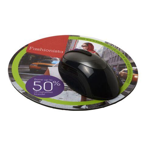 Tapis de souris Q-Mat® rond Noir bronze | sans marquage | non disponible | non disponible