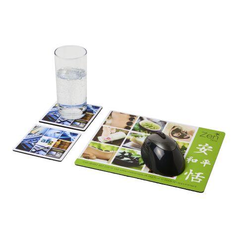 Ensemble de tapis de souris et de dessous de verre Q-Mat® 3