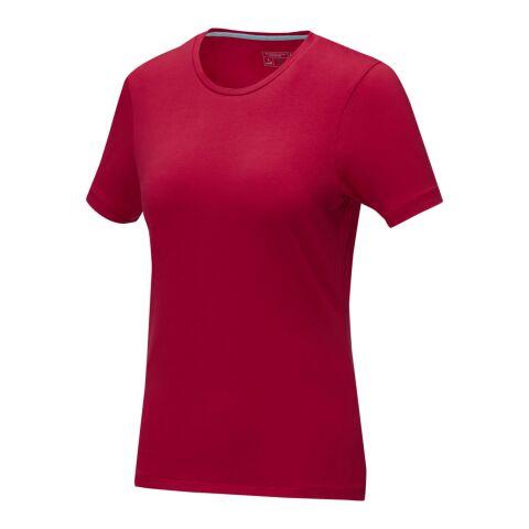 T-shirt bio manches courtes femme Balfour Rouge | M | Sérigraphie 1 couleur | impact en haut du dos | 240 mm x 380 mm | non disponible