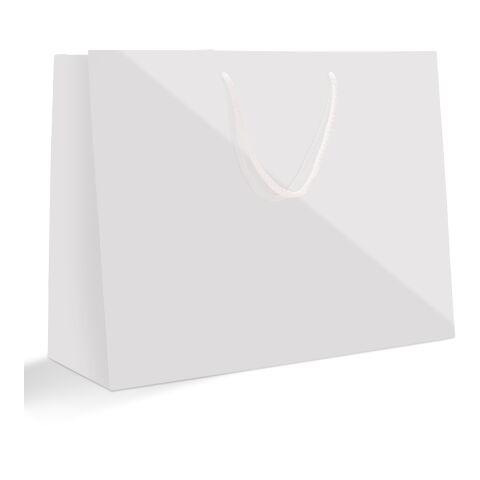 Sac papier avec cordelettes, format portrait 30 x 40 cm