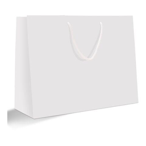 Sac papier avec cordelettes, format portrait 30 x 40 cm sans marquage | mat | non disponible | 16 - jaune ensoleillé