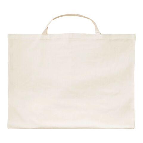 Sac en coton grand format de 70 x 50 cm avec petites anses beige | sans marquage | sans marquage