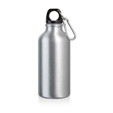 Bouteille d'eau 400 ml argent   sans marquage