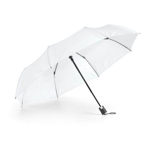 Parapluie pliable blanc | non disponible | sans marquage | sans marquage