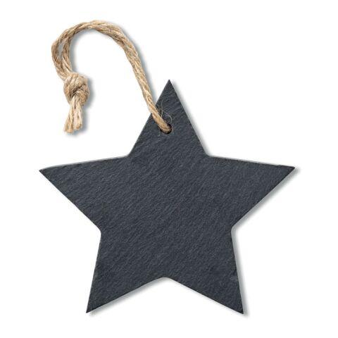Suspension étoile en ardoise noir | sans marquage | non disponible | non disponible