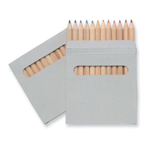 Etui 12 crayons de couleurs