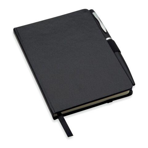 Carnet A6 avec stylo noir | sans marquage | non disponible | non disponible