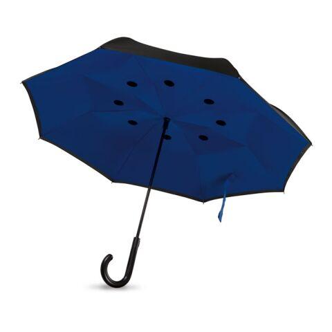 Parapluie fermeture réversible