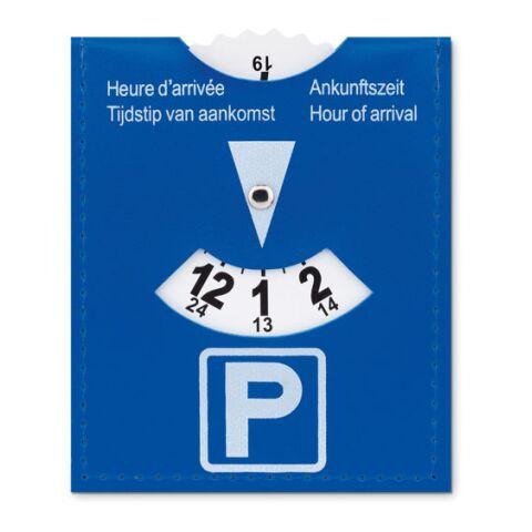 Carte de stationnement en PVC.