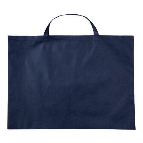 Sac en PP de 70 x 50 cm avec petites anses bleu marine | sans marquage | sans marquage