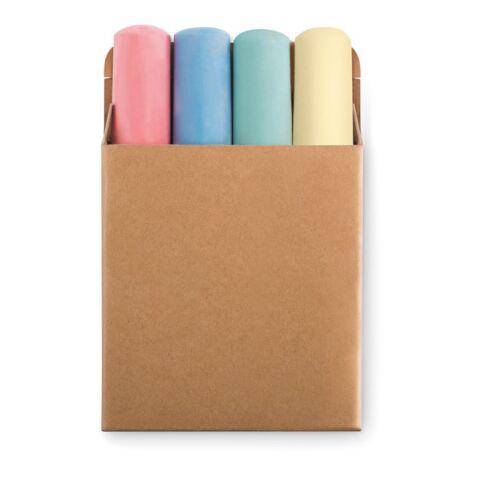 4 grandes craies de couleur-25mm