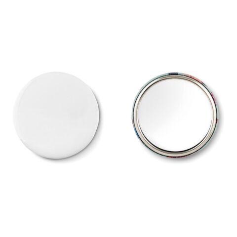 Printed Sample mirror button argent mate | sans marquage | non disponible | non disponible