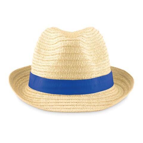 Chapeau de paille bleu royal | sans marquage | non disponible | non disponible | non disponible