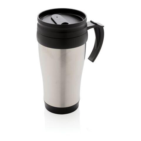 Mug en acier inoxydable argent | sans marquage | non disponible | non disponible | non disponible