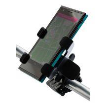 Support de téléphone multipositionnable pour vélo.