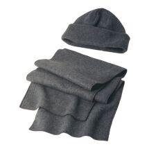 Bonnet et écharpe en polaire