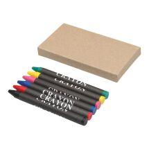Crayons gras 6 pièces - express