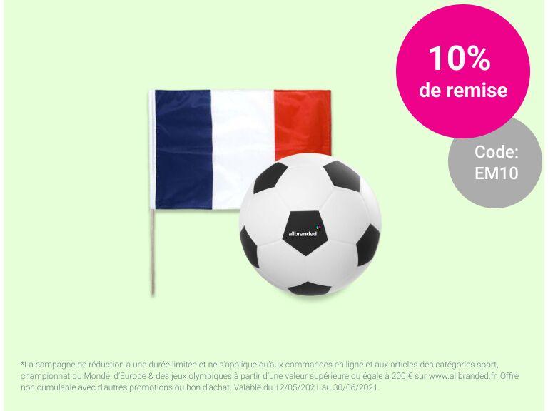 Objets publicitaires pour l'EURO 2021