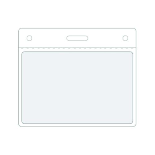 Étui carte d'identité en PVC, format paysage